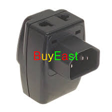 universal to iec320 c14 electrical plug adapter 3 way outlet multi