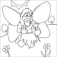 fairy coloring