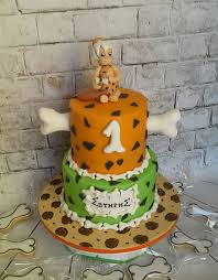 halloween 1st birthday party ideas flintstones bambam cake daniel u0027s 2nd birthday pinterest cake