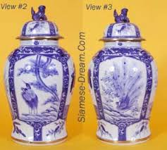 Large Chinese Vases Large Chinese Three Panel Vases 22 Inches Tall The Buddha Garden