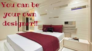 decent modern bedroom and bed wall designs plan n design youtube