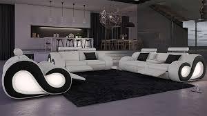 meuble canapé design salon canape moderne salon cuir noir design wiblia com