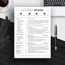 25 unique professional resume template ideas on pinterest