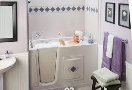 Portable Bathtub For Shower Stall Disabled Shower Enclosure Confidential Handicap Bathroom