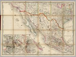 Map Of Southwestern United States by U S Southwest Mexico Railroad Map Of The United States David