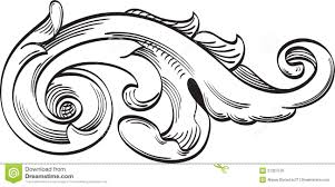 acanthus leaf ornament element stock vector image 74796787