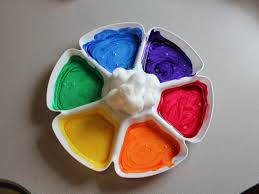 baked cotton balls activities for children clay and crafts