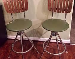 retro bar stools etsy