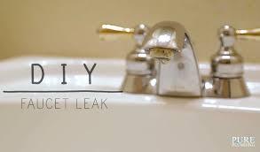 Repair Dripping Faucet Water Leak Repair Pure Plumbing