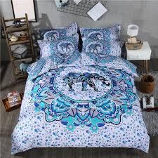 3d skull bedding set black and white duvet cover queen size 3 4pcs