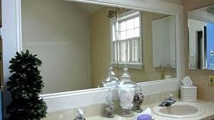 bathroom mirror trim ideas amazing bathroom mirror mirror frame kit traditional bathroom within