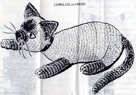 crochet kitty patterns collection on ebay