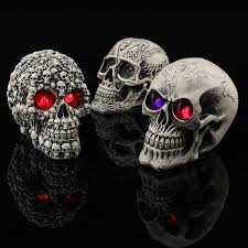 aliexpress buy glowing skull decoration creative