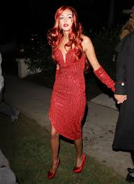 jessica rabbit petra ecclestone as jessica rabbit at halloween party hawtcelebs