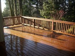 pre stained cedar deck deck masters llc portland or