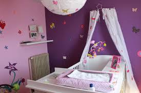 chambre violet blanc deco chambre fille violet idées décoration intérieure
