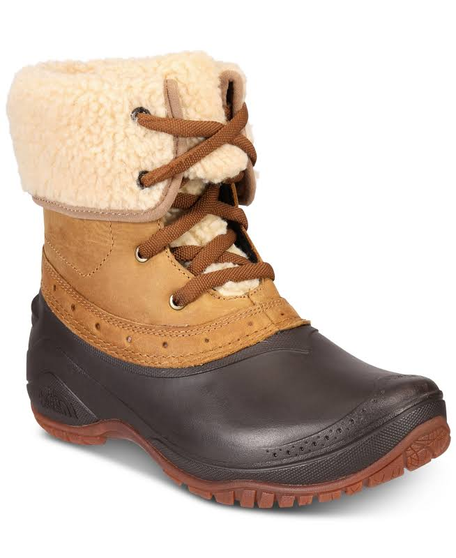 THE NORTH FACE Shellista Roll-Down Women Golden Brown/Coffee Bean Brown (NF0A3RQY8KM) (6)