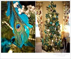 Peacock Blue Christmas Decorations by 75 Best Beautiful Christmas Tree Ideas Images On Pinterest