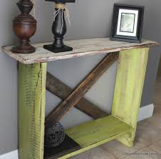 Barn Wood Sofa Table by Beyond The Picket Fence Spring Green Sofa Table