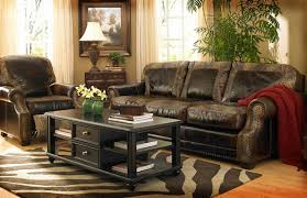 Rustic Leather Armchair Rustic Couches Sets New Lighting Rustic Couches In Distinctive