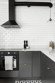 Gray Kitchens Grey Kitchen With Copper Handles Kitchen Pinterest Gray