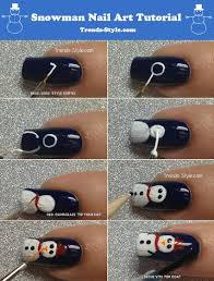snowman nails the crafty ninja frosty the snowman nail art nail