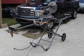 Rigid 7 Tile Saw Stand by Ridgid Miter Saw Stand U2013 An Suv For Your Chop Saw Home Fixated