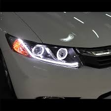honda civic headlight 12 15 honda civic sedan 12 13 coupe drl led optic style