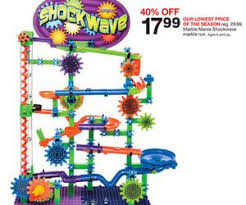 target black friday saled marble mania shockwave marble run deal at target black friday sale