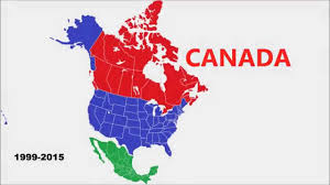 North America World Map by The New Future Map Of North America Youtube