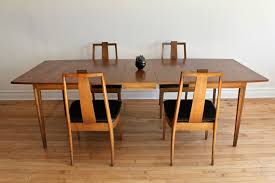 mid century dining room table mid century modern broyhill forward 70 dining set in 3726 west