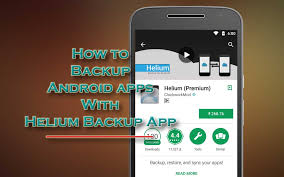 android helium how to backup android apps with helium backup app top android tips