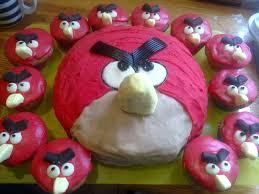 angry birds favourite cupcake recipe