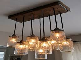 How To Mason Jar Chandelier Jar Light Fixture Light Fixtures