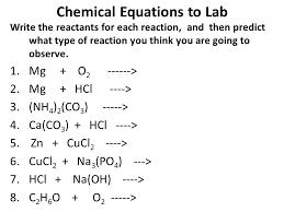 balancing chemical equations worksheet zn hcl3 worksheets