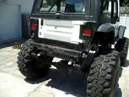 monster jeep jk 1989 monster jeep wrangler youtube