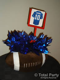 football party centerpieces nj party decorations event