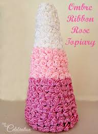 ombre ribbon ombre ribbon topiary miss celebration