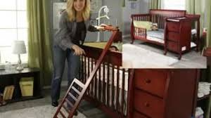 Sorelle Newport Mini Crib Convertible Crib And Changing Table Combo Home Design Ideas And