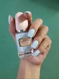 baby blue nail polish by miniso nail art pinterest baby blue