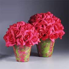 Tin Can Table Decorations Wedding Flower Pot Centerpiece Ideas Centro De Mesa Con Dulces Y