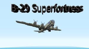 B 29 Interior Minecraft Boeing B 29 Superfortress Youtube