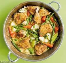 creme fraiche cuisine recipe cider chicken with creme fraiche daily mail