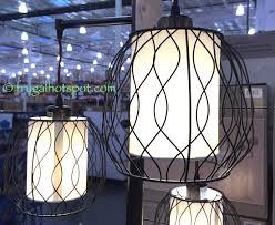 Costco Led Light Fixture Stylecraft 3 Light Floor Lamp Costco Frugalhotspot Decor