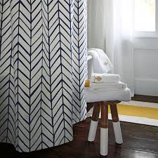 Shower Curtain Chemistry Navy Feather Shower Curtain Serena U0026 Lily Home Accessories