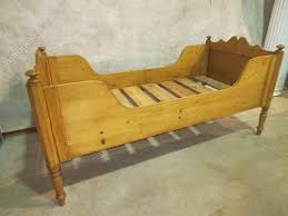 Antique Sleigh Bed Eastern European Pine Sleigh Bed Antiques Atlas
