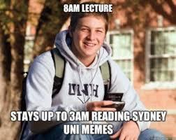 Sydney Meme - uni memes attendance exodus wear