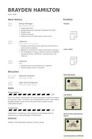 Basketball Resume Examples by Swing Manager Resume Samples Visualcv Resume Samples Database