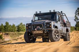 custom land rover defender custom land rover defender with 430 bhp land rover and range