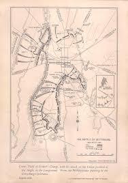 Gettysburg Map Gettysburg During The Centennial American Civil War Forums